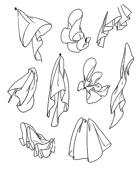 支点を決めよう パターンで覚えるシワの描き方 いちあっぷ
