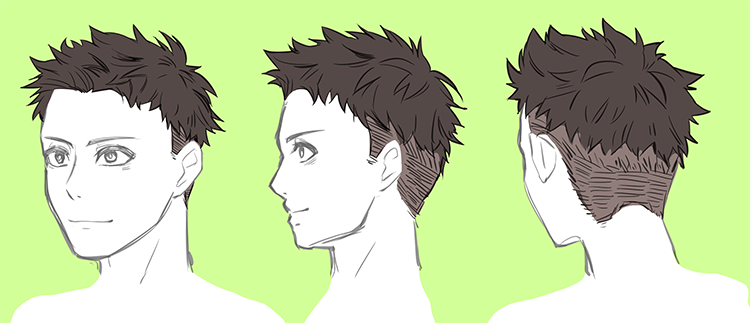 男性のリアルな髪型バリエーション・7選