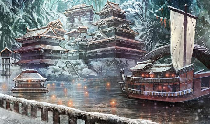 【美しき銀世界】雪イラスト特集