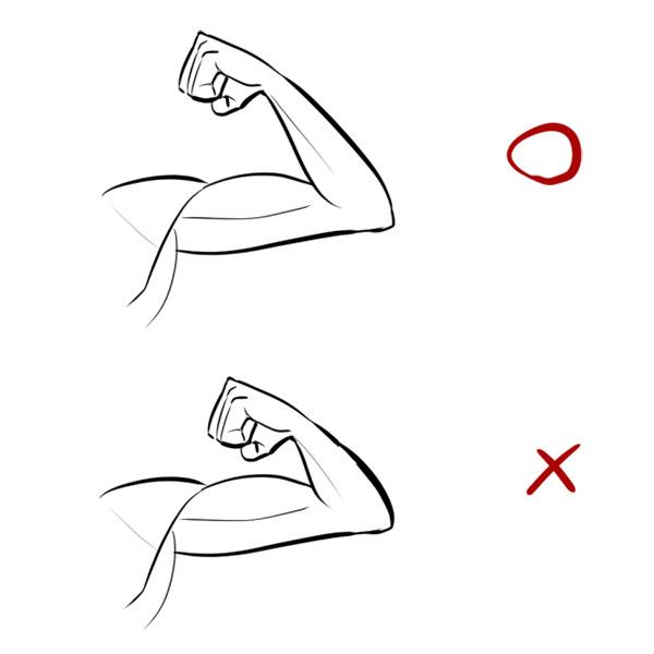 構造と比率を覚えれば上達できる腕の描き方講座 いちあっぷ