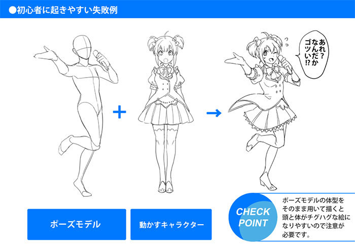 キャラクターがいきいきとするポーズが描ける 立ち絵が上手くなる方法 いちあっぷ