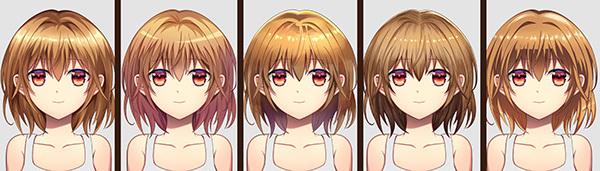 美少女イラストをイメチェンする 男性向けで頻出する髪の塗り方5選