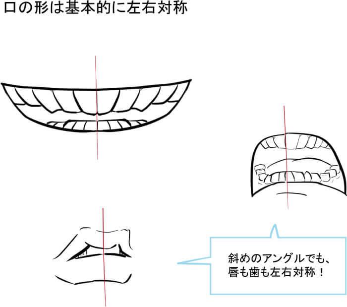 目」にならぶ顔の超重要パーツ! 口の描き方講座 | いちあっぷ