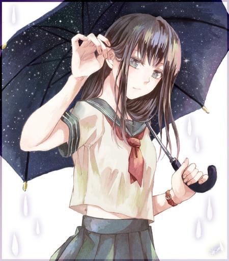 明日天気になぁれ 雨イラスト特集 いちあっぷ