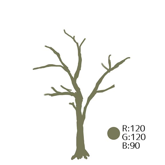 初心者でも描ける お手軽 木の描き方講座 いちあっぷ