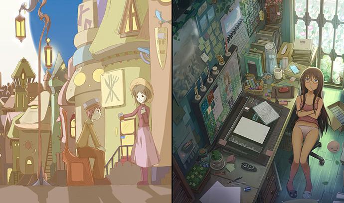 【振り返る】「過去」と「現在」イラスト比較特集 第2弾