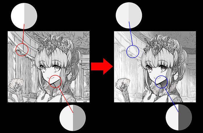 明度を使いこなそう イラストの主役が引き立つ4つのテクニック いち
