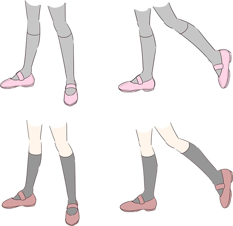 初心者の「なぜか上手く描けない」を解決!足の描き方テクニック