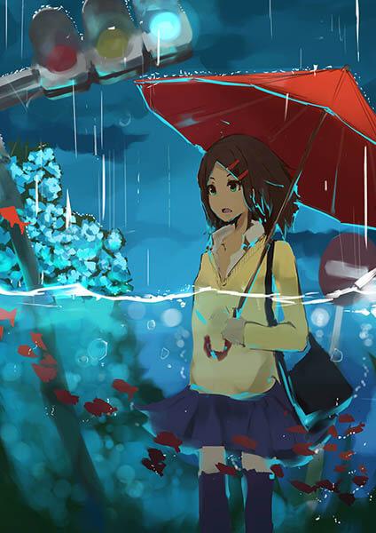 梅雨到来 梅雨イラスト特集 いちあっぷ