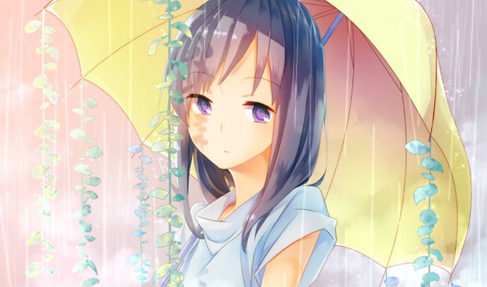 【明日天気になぁれ】雨イラスト特集
