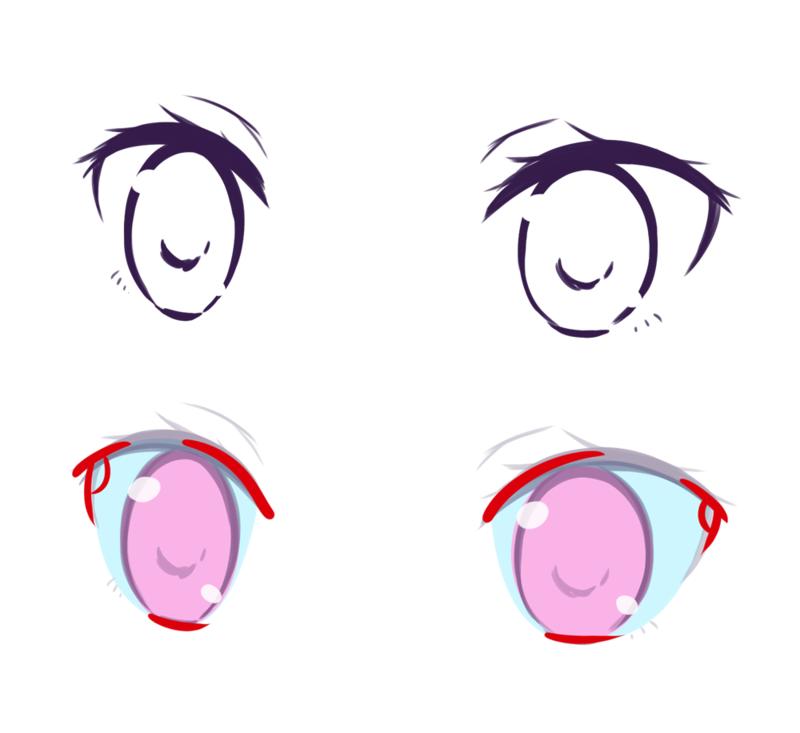 初心者のなぜか上手く描けないを解決目の描き方テクニック編